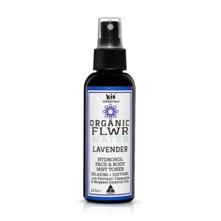 organic flower water - lavender