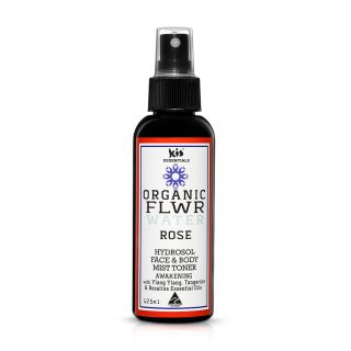 organic flower water - rose