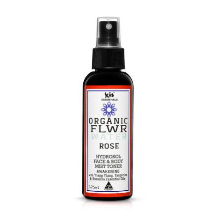 organic flower water - rose