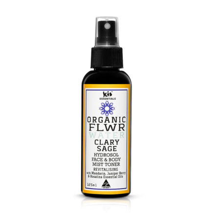 organic flower water -clary sage