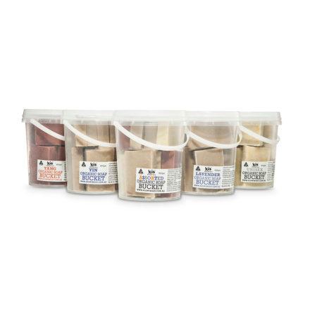 Lavender Organic Soap Bucket